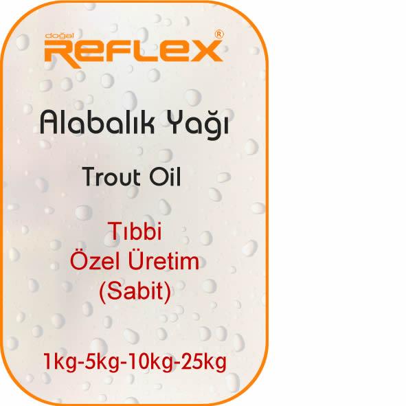 Dogal Reflex Alabalık Yağı ,Tıbbi ve Aromatik Bitkisel Yağlar, Organik Saf Yağlar, Soğuk Pres Bitkisel Yağlar, Doğal Organik Bitkisel Katı Yağlar, Soğuk sıkım organik yağlar